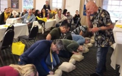 CPR Class for San Diego Dental Convention