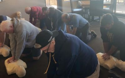 Orange County CPR Class at Local Golf Club