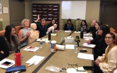 Orange County CPR Class for local women's shelter