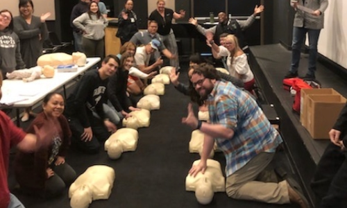 CPR Class for Fairmont Preparatory Academy