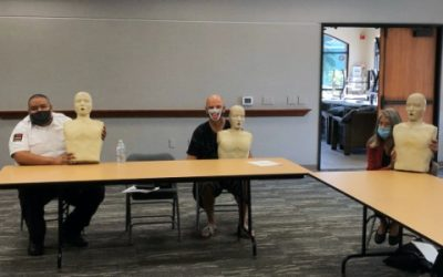 Dana Point CPR Class for Niguel Shores Community Association