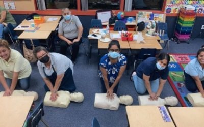CPR Class at Academy on the Hills Preschool in Aliso Viejo